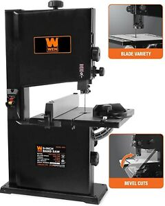 Band Saw For Woodworking Benchtop Stationary Workshop Portable Power Bandsaw New