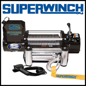 Superwinch Lp 10000 12v Steel Cable Winch 51 Hp Motor