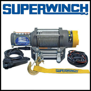 Superwinch Terra 45 12v Atv Utv Steel Rope Winch