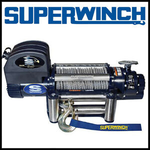 Superwinch Talon 9 5 12v Steel Rope Winch 62 Fpm