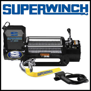 Superwinch Lp 8500 12v Steel Rope Winch
