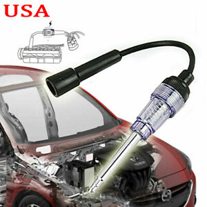 Spark Plug In Line Tester Ignition System Coil Engine Auto Diagnostic Test Tool