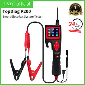 Hot Automotive Electrical Circuit System Tester Car Truck Motorcycle Topdiagp200