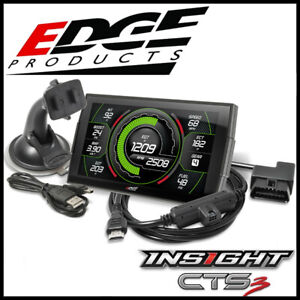Edge Products Evolution Cts3 Tuner Monitor Fits 2003 2012 Dodge Ram Diesel