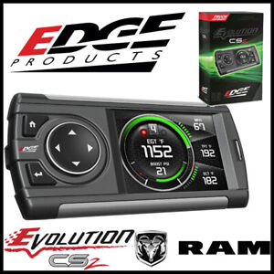 Edge Products Evolution Cs2 Programmer Monitor Fits 2003 2012 Dodge Ram Diesel