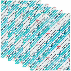 Oxy sorb 2000cc Oxygen Absorber Packet 5 Pack Long Term Food Emergency Packaging