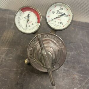 Victor Sr 410 A Acetylene Gas Regulator Made In Usa Victor Equipment Company