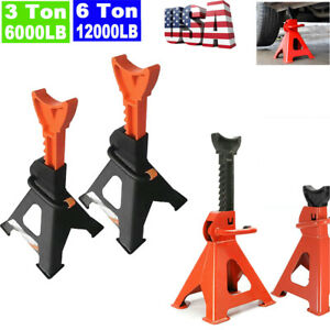 2pcs 3 6 Ton High Lift Jack Stands Car Auto Truck Garage Tools Set 2021 Best
