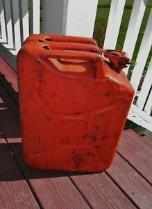 Vintage 1951 Usa 5 Gallon Jerry Gas Can Korean War