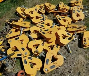 Kito Harrigton Come Along Chain Hoist Beam Clamp Lots Available 3 Ton Clamp