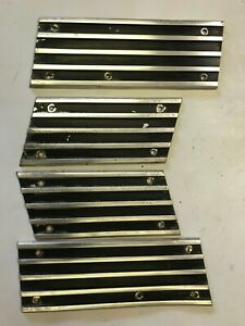 1968 68 Amc Amx Javelin Used Oem Rocker Trim Pieces 4 Pcs Rare