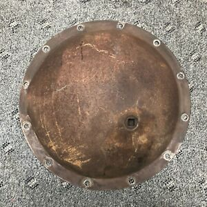 1948 Gmc 520 Series Heavy Cabover Truck Rear Pumpkin Differential End Cover