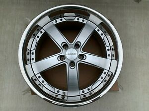 Set 20 Vossen Vvs 084 Silver Wheels 5x120 Bmw Used 4 Wheels