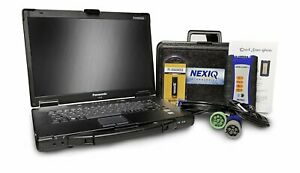 Universal Diesel Truck Diagnostic Laptop Scanner Complete Kit With Nexiq 124032