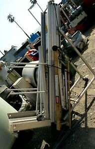 Power Scope Upright Scaffold Industrial Man Lift Mod S25 00_as is_as pictured