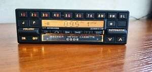 Classic Mercedes benz Radio Cassette Becker Mexico Be837 Old School Full Service
