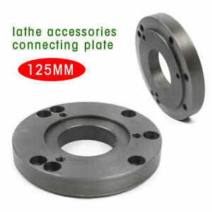 125mm Cnc Metalworking Lathe Machine Tool Equipment Lathe Back Plate Connection