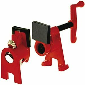 H Style Pipe Clamp 3 4 Inch Red Bpc h34 0 5 Kilograms Black Oxide 8 5 X 2 5 X 5