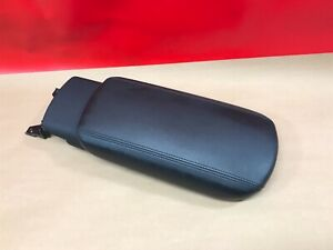 2014 2018 Kia Forte Center Floor Console Lid Only Sliding Black Leather