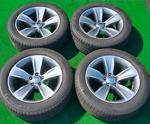 Factory Dodge Challenger Wheels Tires 4 Genuine Oem Hyper Gray R T Charger Sxt