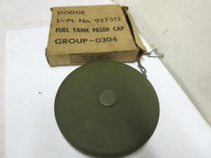 Wwii Dodge Wc 3 4 Ton Military Truck G502 Large Fuel Cap Nos