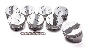 Ic793 040 Sbc Forged Domed Piston Set 4 040 Bore 6 26cc