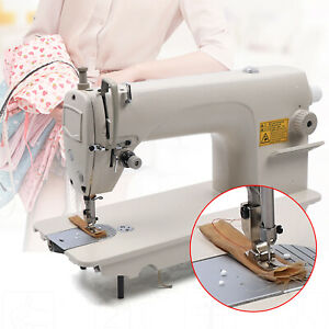 Industrial Sewing Machine Leather Patch Stitch Sewing W Winder Kit Knee Control