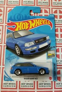 2021 Hot Wheels 94 Audi Avant Rs2 Blue H Case Nip 1 64 Scale