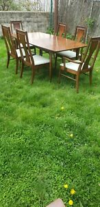 Mid Century Modern Consolidated Furniture Dining Room Set