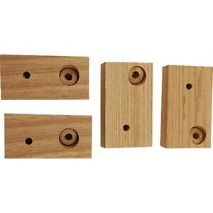 Model T Ford Hood Shelf Support Set Wood 4 Pieces 16 55417 1