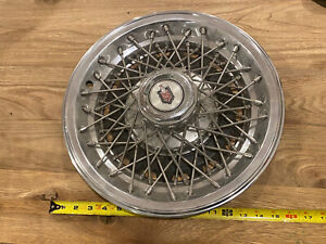 Vintage Monte Carlo Wire Hubcaps Wheelcovers Norris Industries 1976 15 Chevy