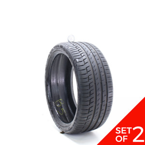 Set Of 2 Used 235 35r19 Continental Premiumcontact 6 91y 7 7 5 32