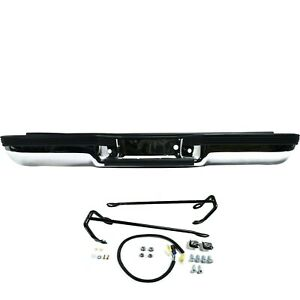 New Complete Rear Step Bumper Assembly For 1992 1999 Suburban Tahoe Ships Today