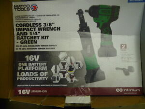 Matco Impact Wrench And Ratchet
