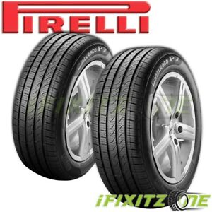 2 Pirelli Cinturato P7 All Season Run Flat 205 55r16 91v Performance Rft Tires