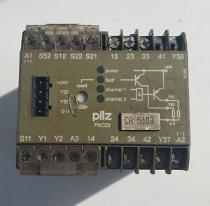 Used Pilz Pnoz8 Safety Relay Module 474760