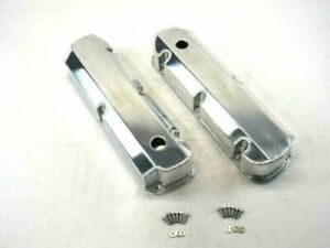 Sbf Ford 289 302 351w Fabricated Tall Aluminum Valve Covers W Holes