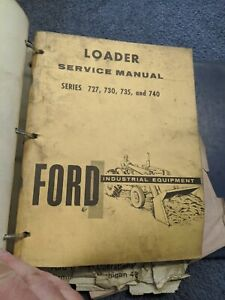 Ford Series 727 730 735 740 Loader 3500 4000 4400 5000 Tractor Service Manual