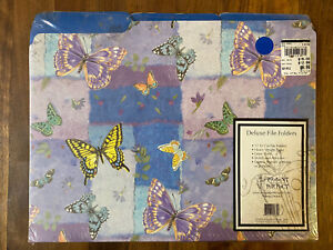 Butterfly Colorful File Folders Present Perfect Pack Of 12