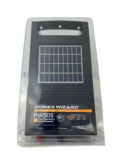 Power Wizard Pw50s 6v Solar Electric Fence Charger 0 06 Joule Output