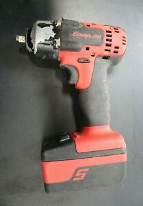 Snap On Ct8810 18v 3 8 Dr Impact Wrench Ctb7185 18v 3ah Battery