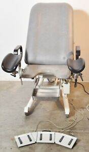 Sonesta Stille Type 6300 Gynecology Power Exam Chair Table With Stirrups