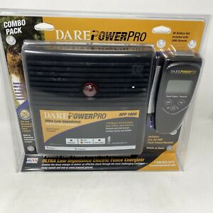 Dare Power Pro Dpp 1800 Electric Fence Charger 3480 Fault Finder Remote Combo