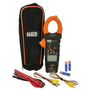 Klein Tools Cl450 Electrical Tester Hvac Clamp Meter Differential Temperature