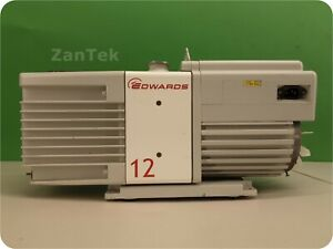 Edwards Rv12 Rotary Vane Vacuum Pump Tested And Fully Functional