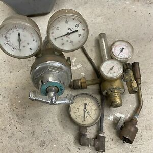Welding Regulators Argon helium Flowmeter Welding Gauges Propane Torch Welding