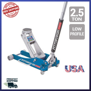 Hydraulic Floor Jack 2 5 Ton Aluminum Racing Car Low Profile Rapid Pump Auto New