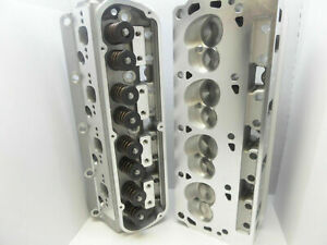 Sbf Ford Loaded Set 2 Complete Aluminum Cylinder Heads 302 190cc 62cc 2 02 1 6