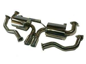 Fits Porsche 987 Boxster S Cayman S 05 08 Top Speed Pro 1 Exhaust System