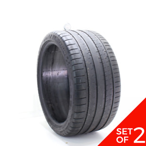 Set Of 2 Used 325 30zr21 Michelin Pilot Super Sport 108y 7 32